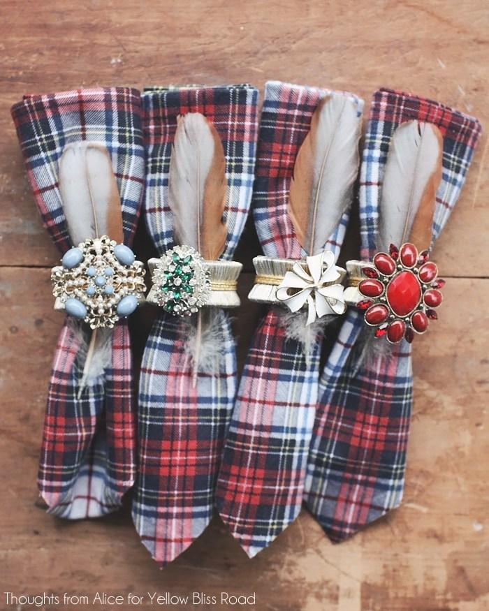 Glam Napkin Rings