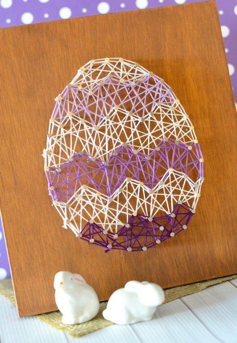 Easter Egg String Art