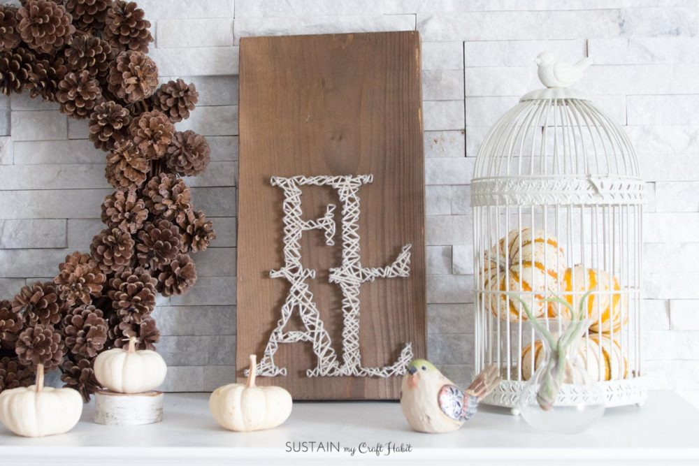 Fall String Art