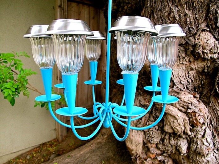 Solar Lights Chandelier