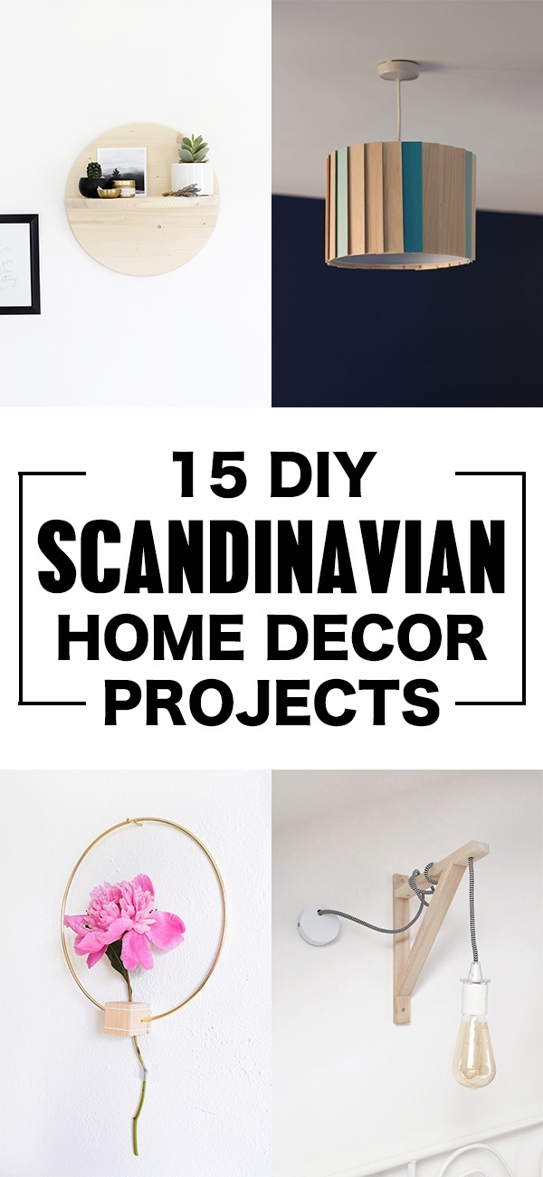 15 DIY Scandinavian Home Decor Projects