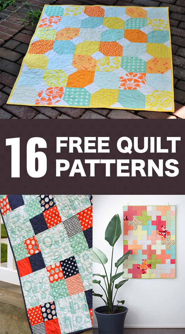 16 Best Free Quilt Patterns