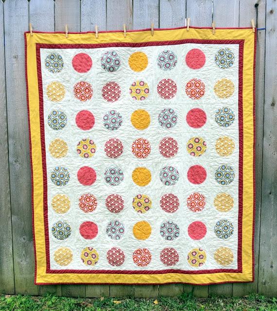 Circle Quilt Pattern