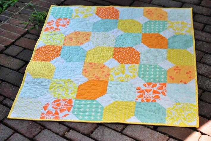 Citrus and Mint Quilt