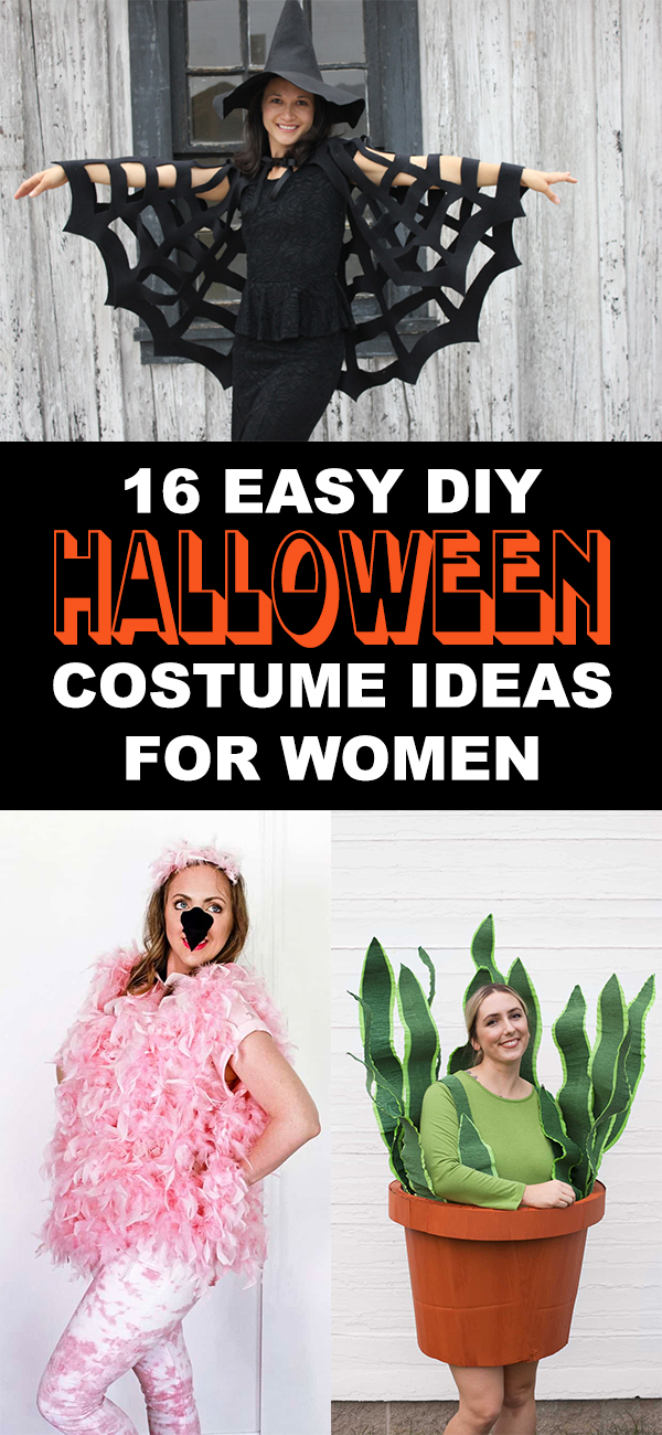 16 Easy Diy Halloween Costume Ideas For Women