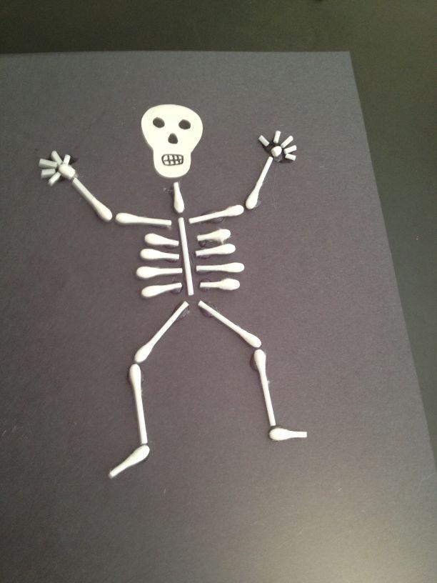 Q-Tip Skeleton