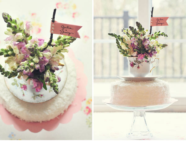 Teacup Cake Topper