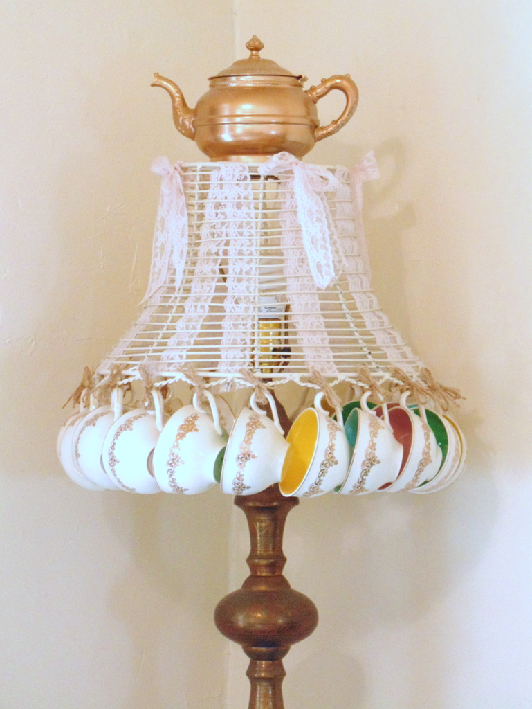 Teacup Lampshade