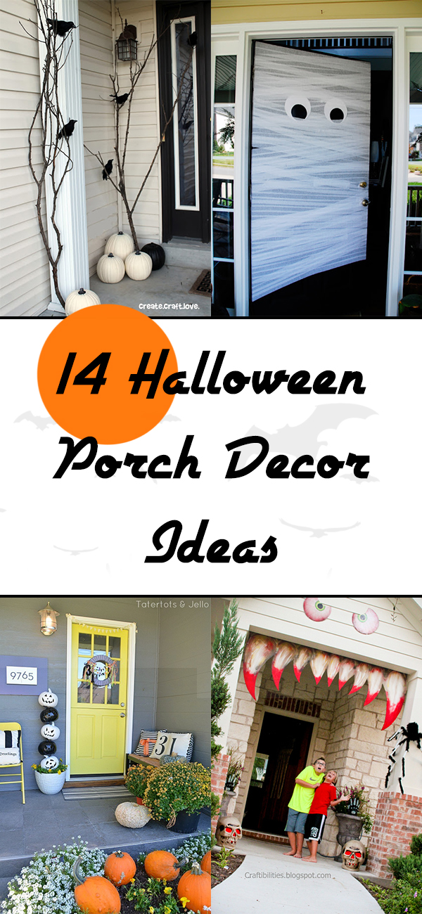 14 Halloween Porch Decor Ideas