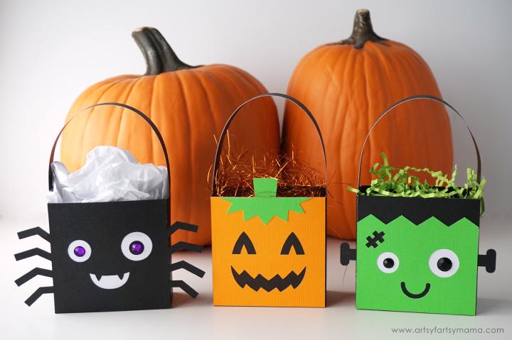 Halloween Character Treat Bags