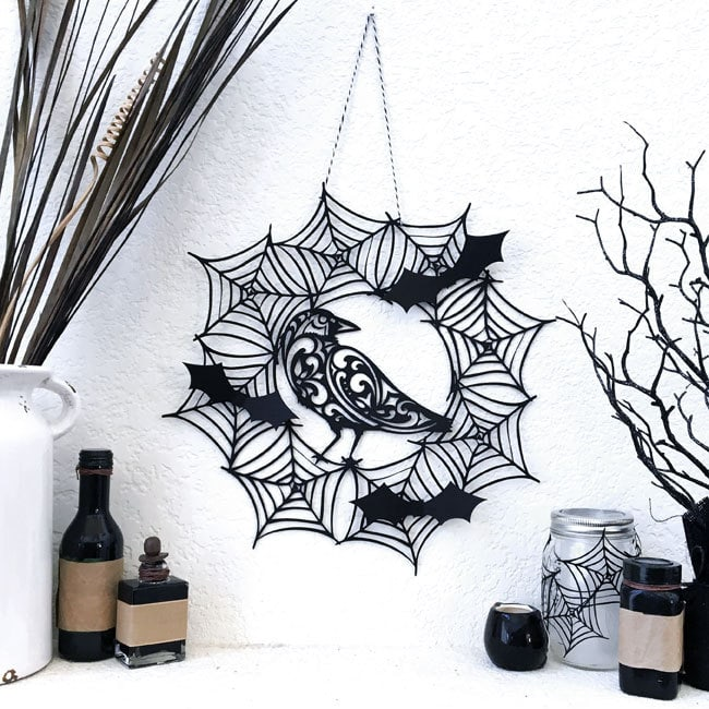 Spiderweb Wreath