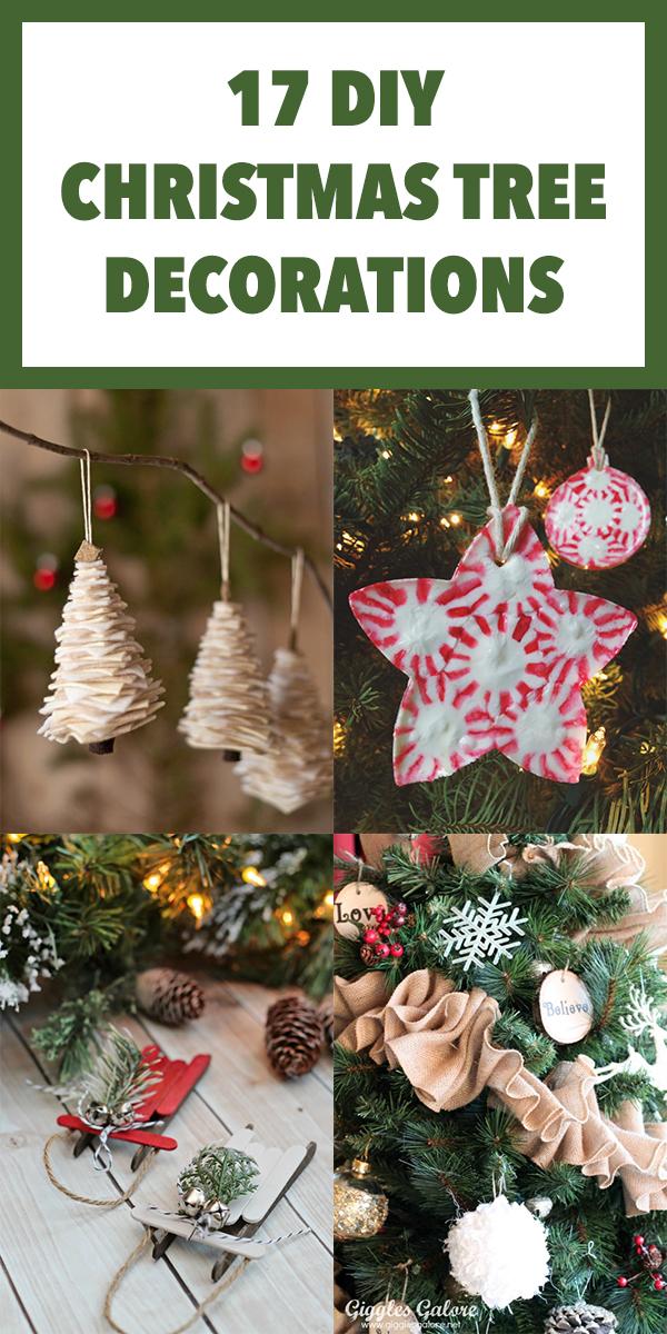 17 DIY Christmas Tree Decorations to Make this Season