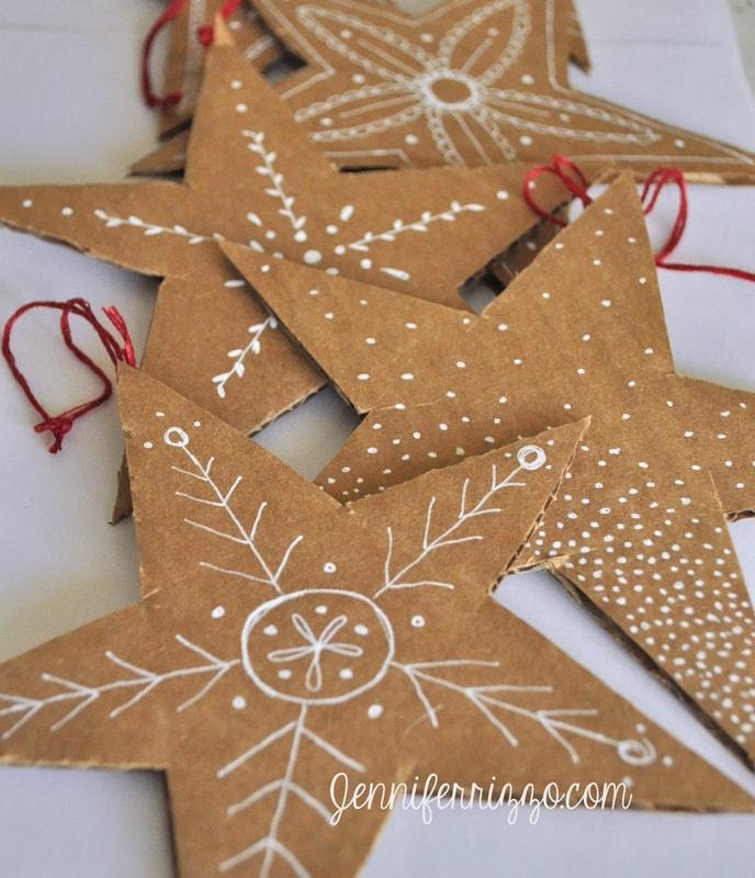 Hand Drawn Cardboard Stars