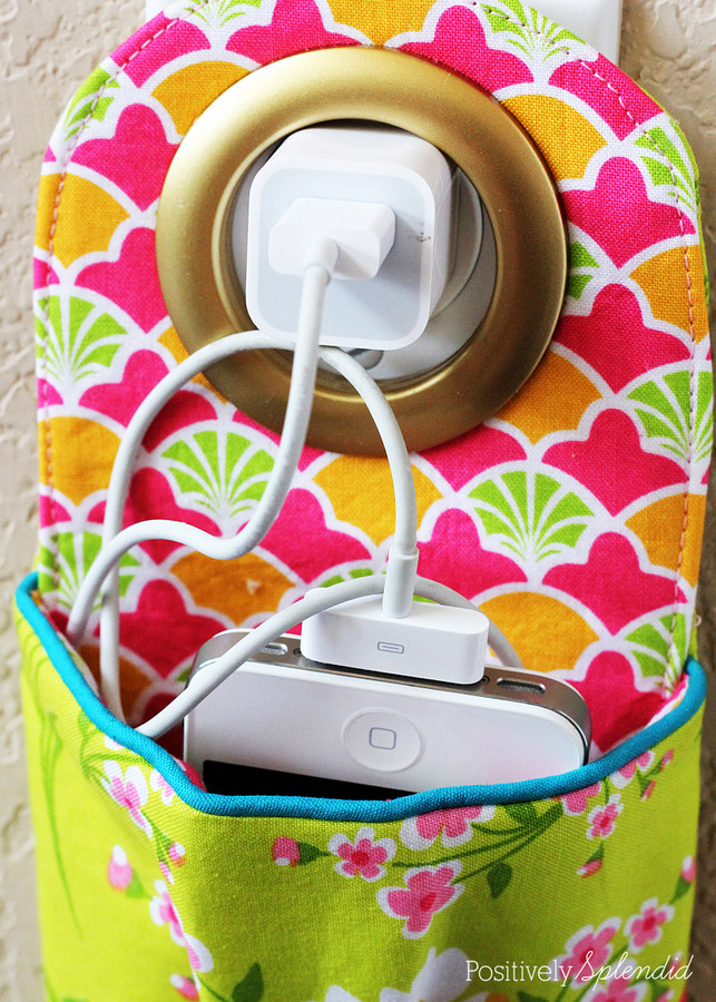 Fabric Phone Charging Station
