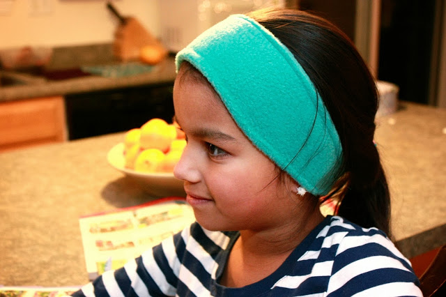Fleece Ear Warmer Headband