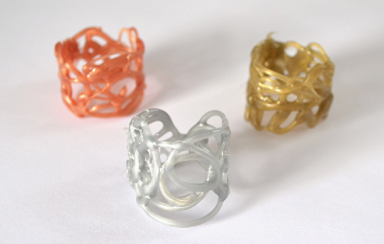 Hot Glue Rings