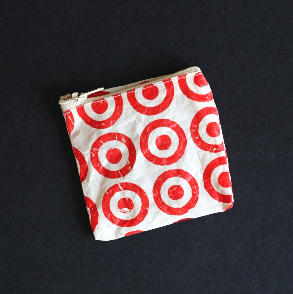 Plastic Bag Coin Purse