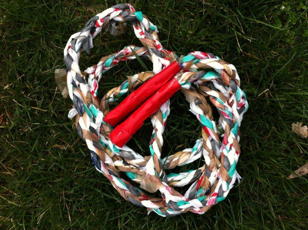 Plastic Bag Jump Rope