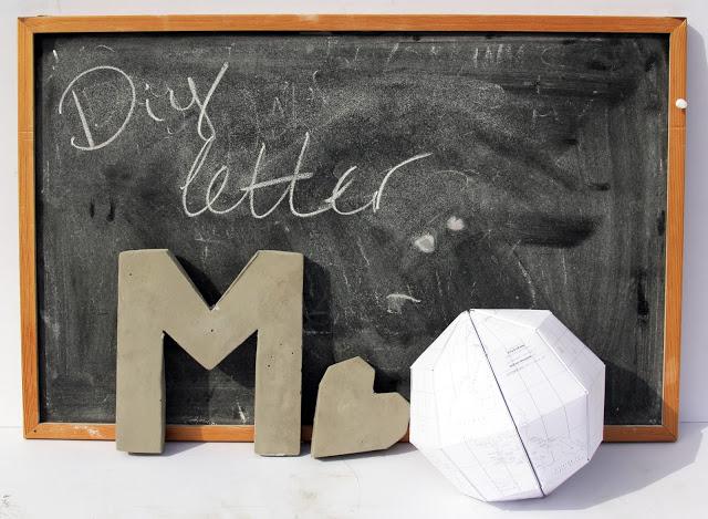 Cement Letter