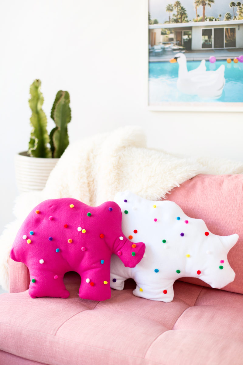 Animal Shaped Pillows