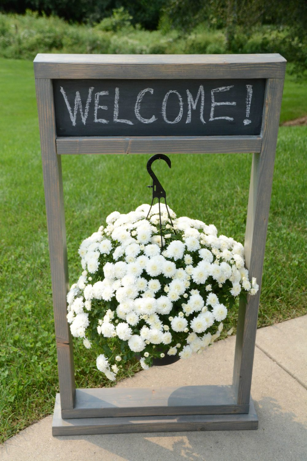 Hanging Planter Sign
