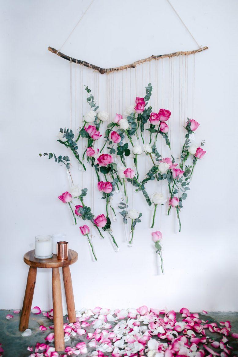 Floral Vase Wall Hanging
