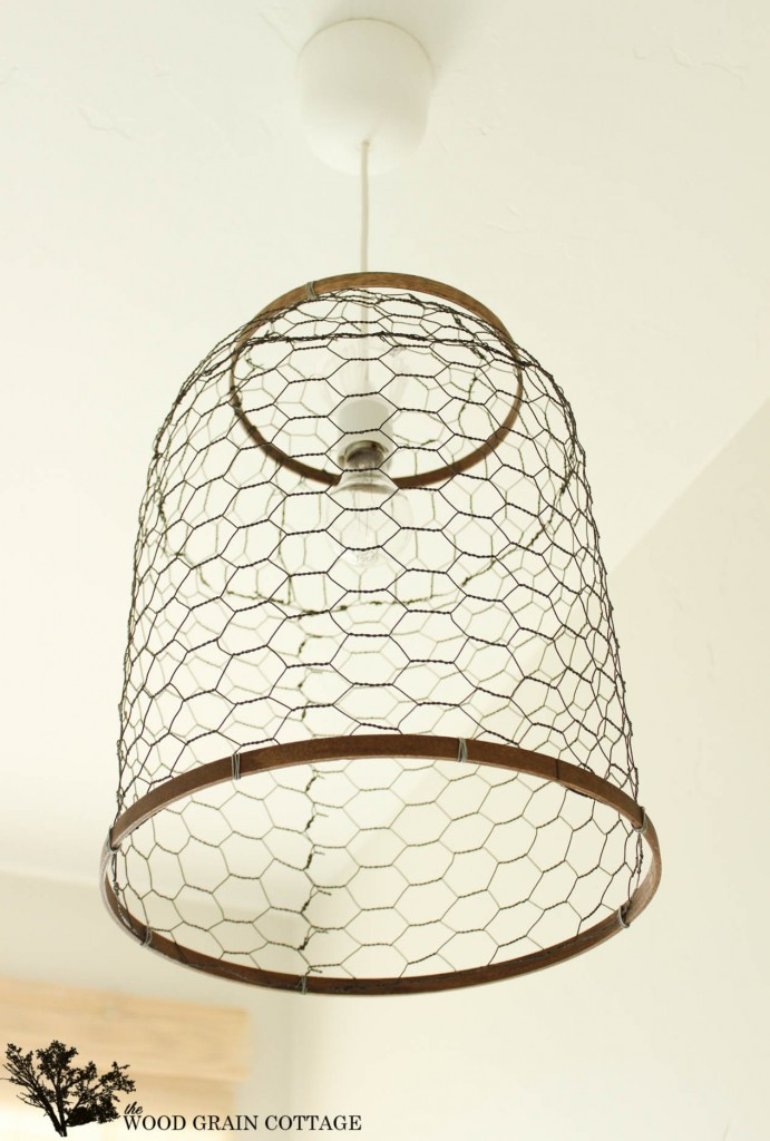 Chickenwire Pendant Light