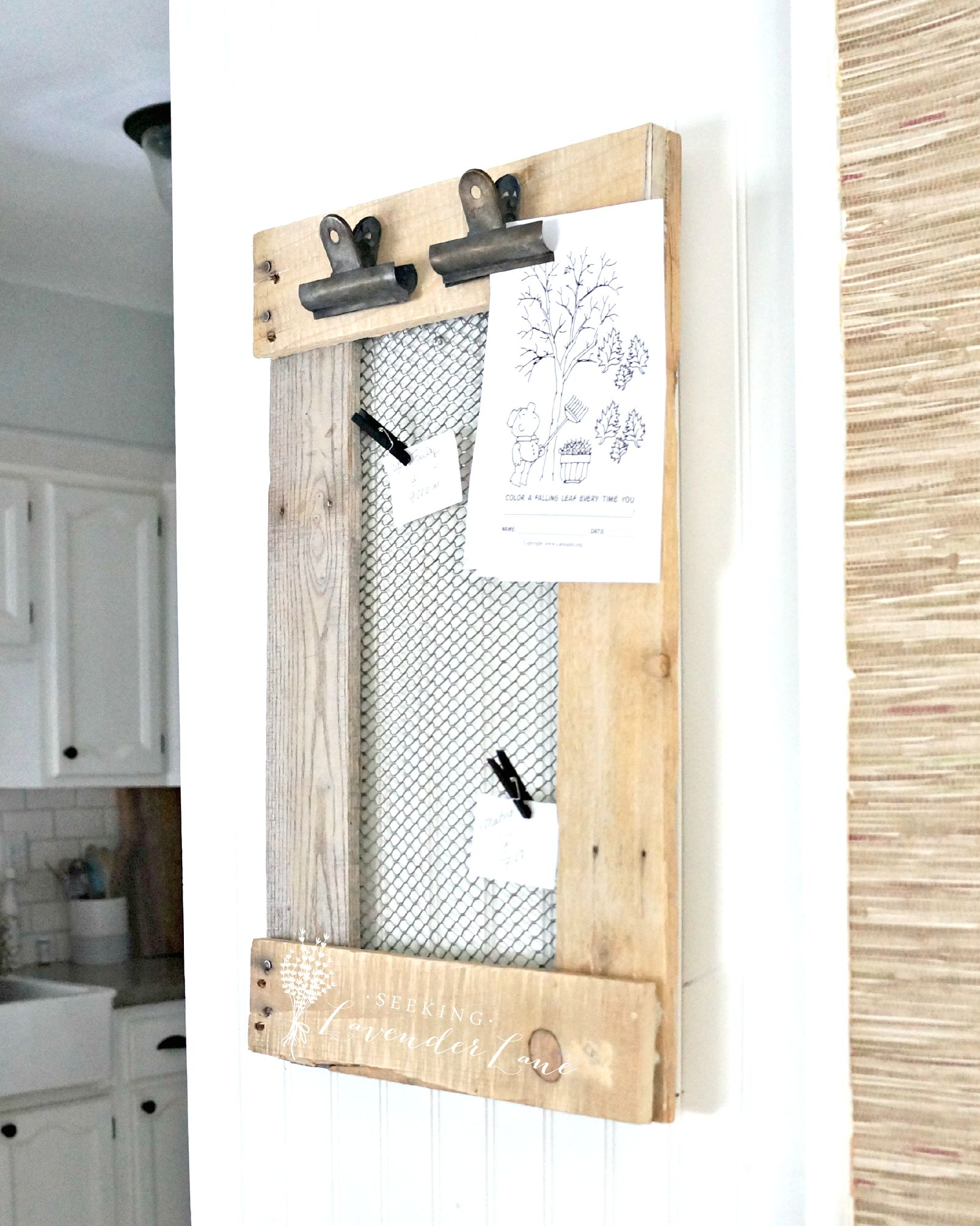 Farmhouse Message Board