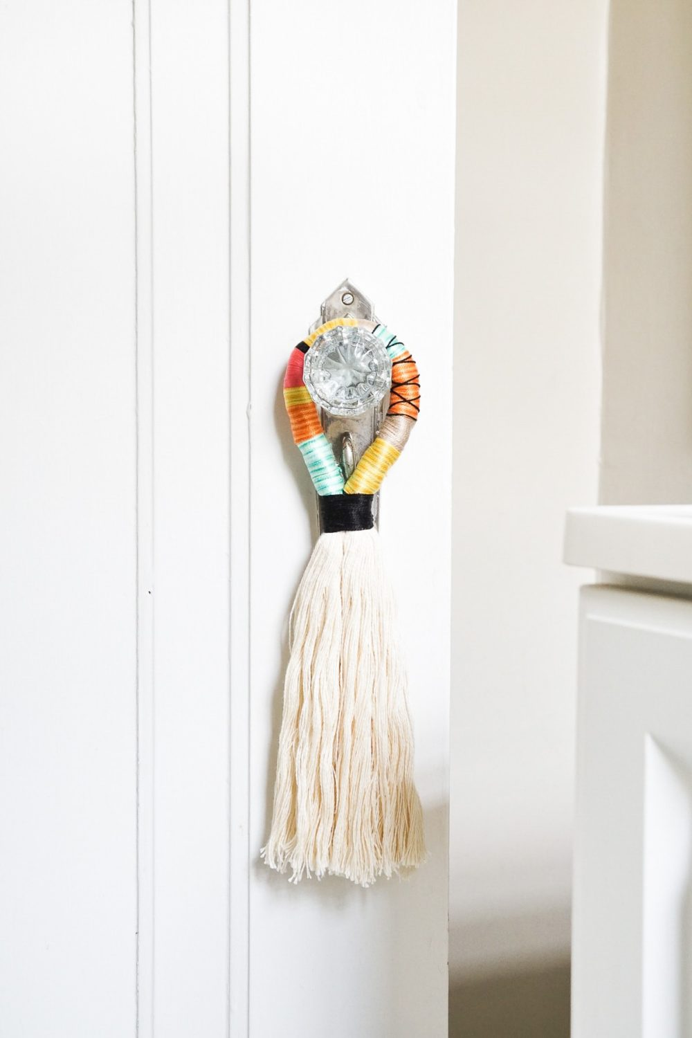 Boho Door Handle Tassel
