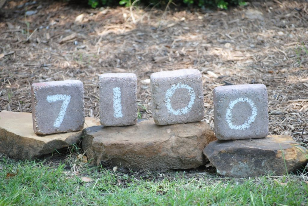 Stone Number Display